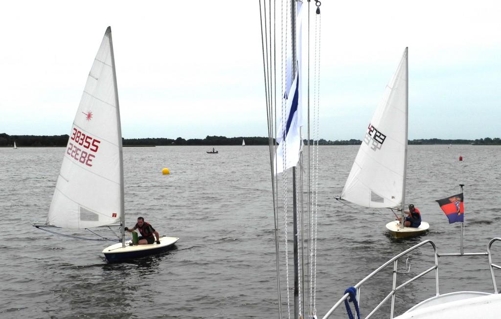 close finish Heiko en Ernst